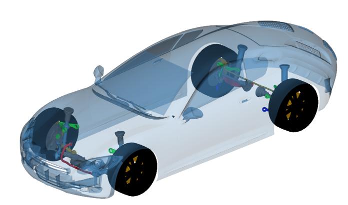 3D Vehicle Mechanics